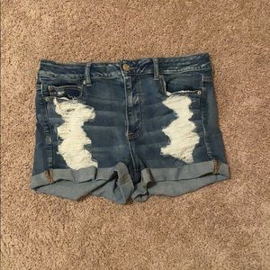 High waisted American eagle short sz 14